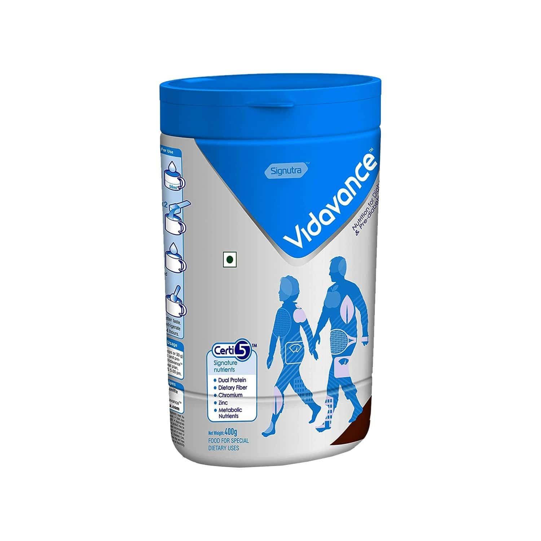 Vidavance Advanced Chocolate Diabetes Care Powder Jar Of 400 G