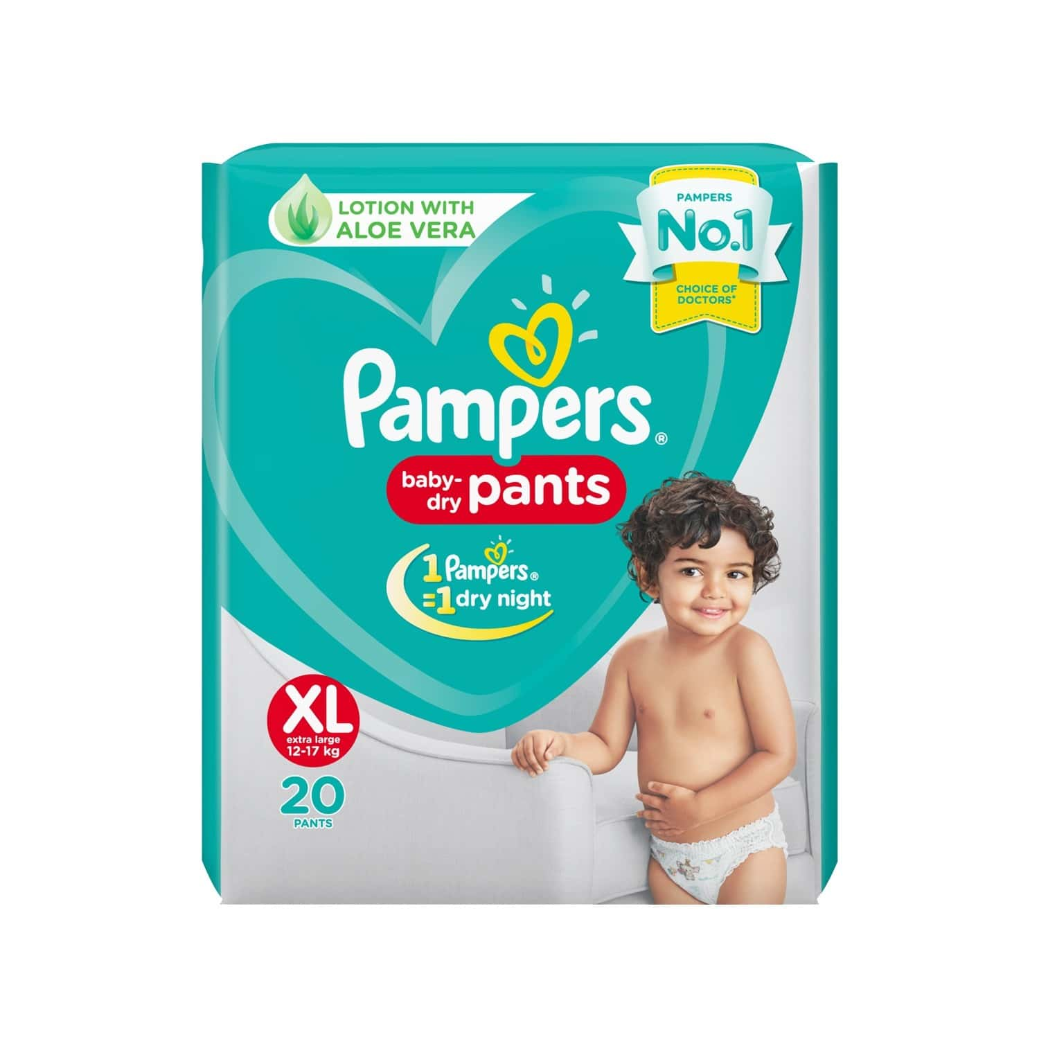 Pampers New Diaper Size Xl Packet Of 20
