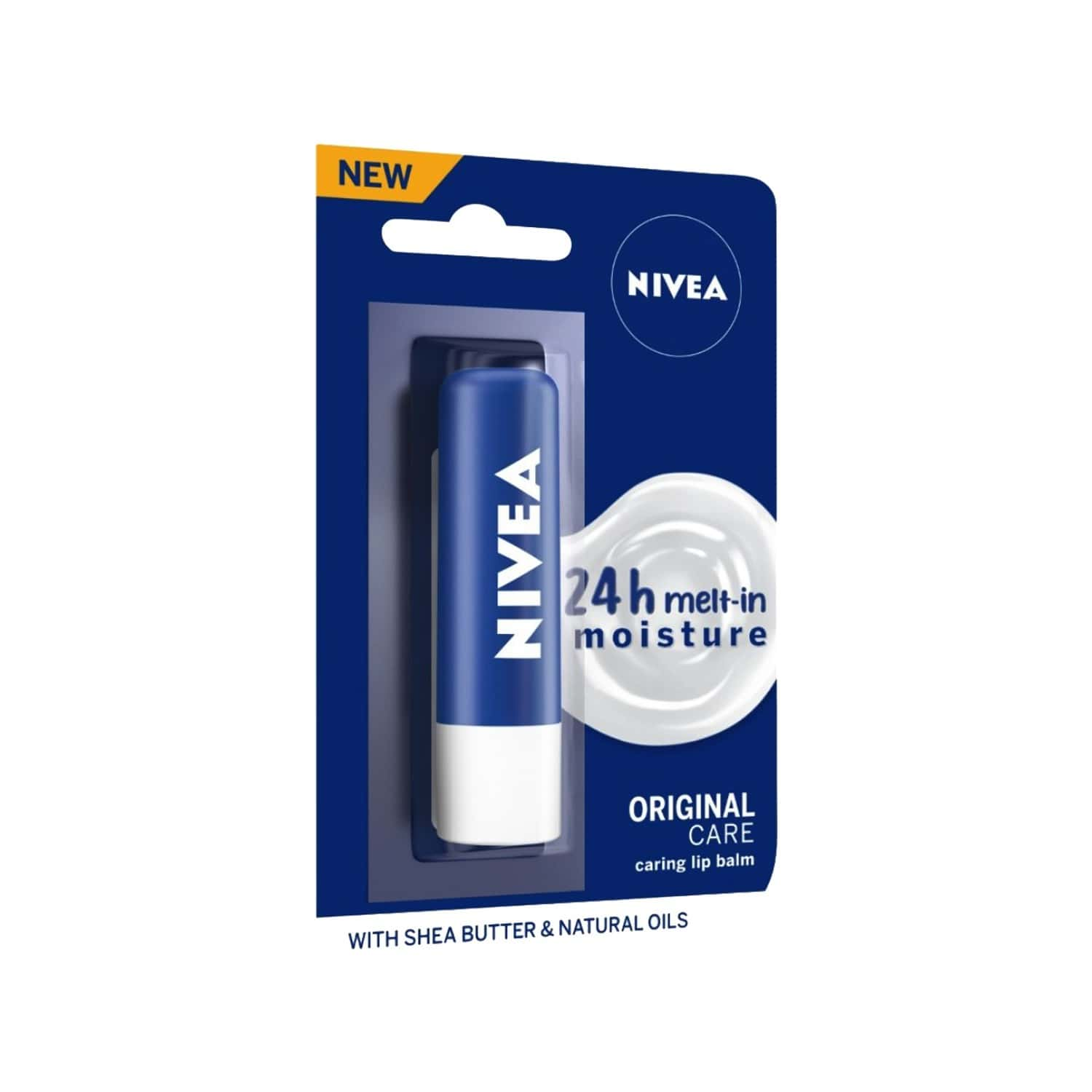 Nivea Lip Care Original Care, 4.8 G