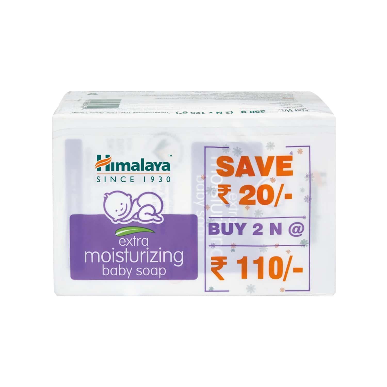 Himalaya Extra Moistu Baby Soap 125g Buy 2 India