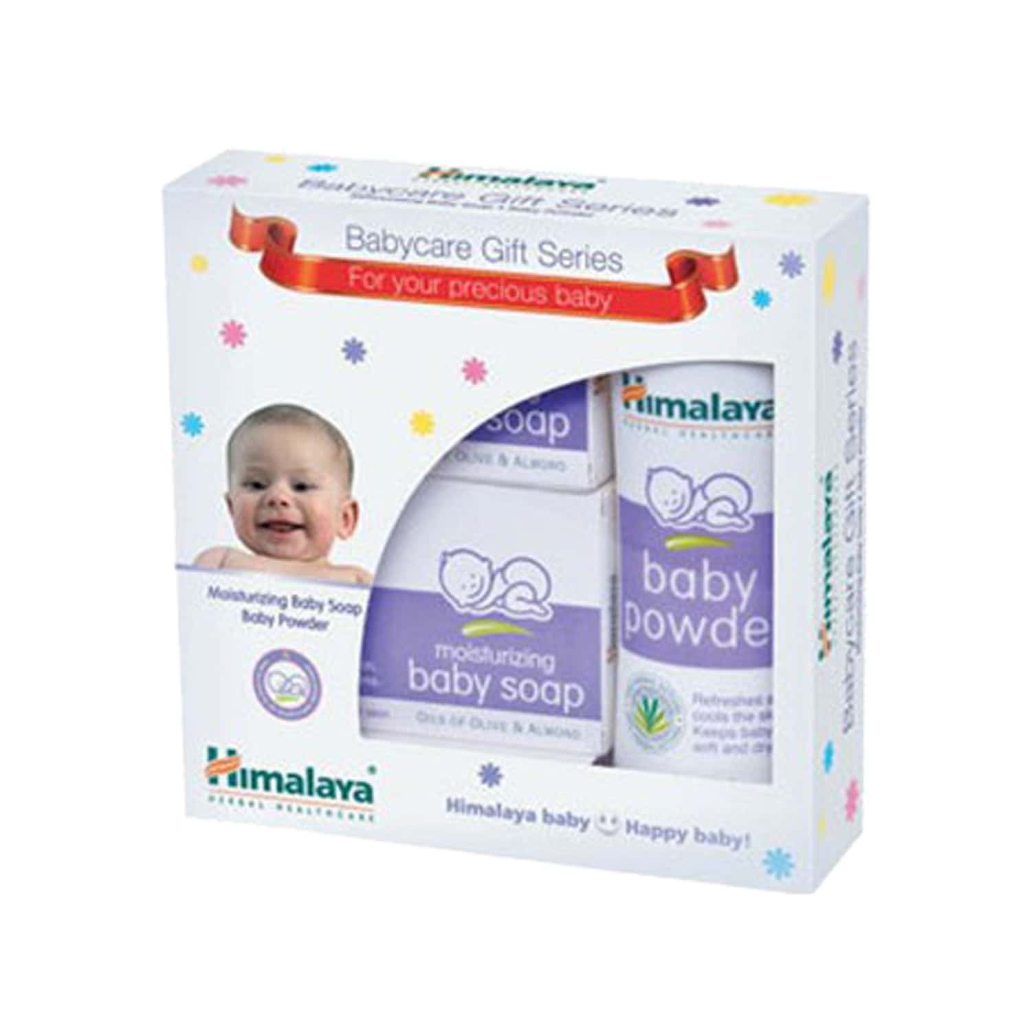 Himalaya Baby Care Gift Pack(soap2x125g+pow 100g)