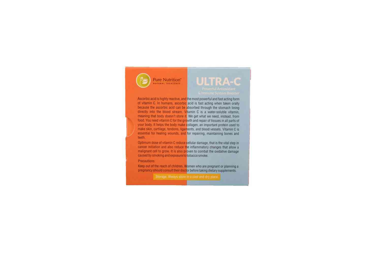 Pure Nutrition Ultra C - (15 Sachets Of 5gms)