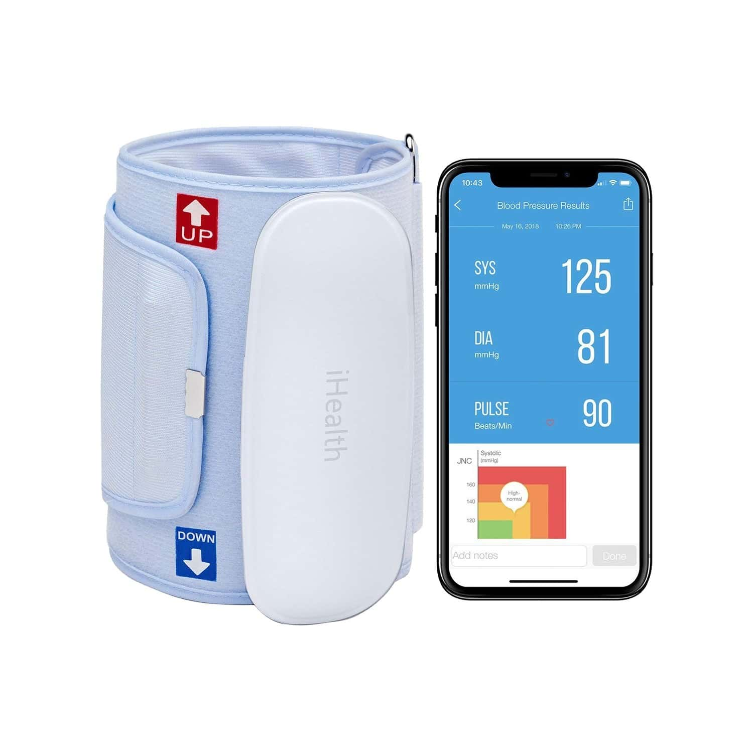 Ihealth Feel Wireless Connected Upper Arm Bp Monitor