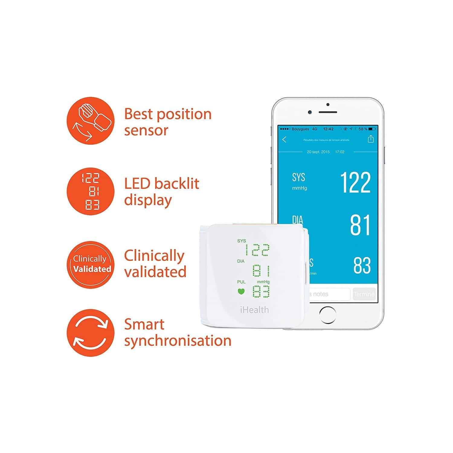Ihealth View Wireless Connected Wrist Bp Monitor