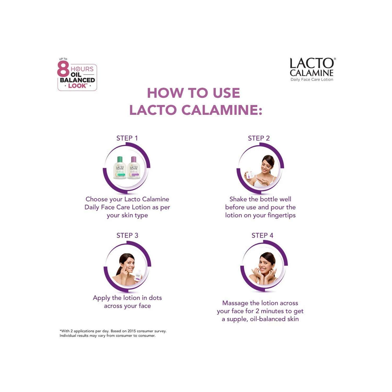 Lacto Calamine Oil Balance Lotion ( Combination To Normal Skin )- 60ml