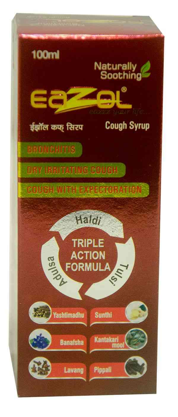 Buy Eazol Cough Syrup 100ml Online Get Upto 60 Off At Pharmeasy