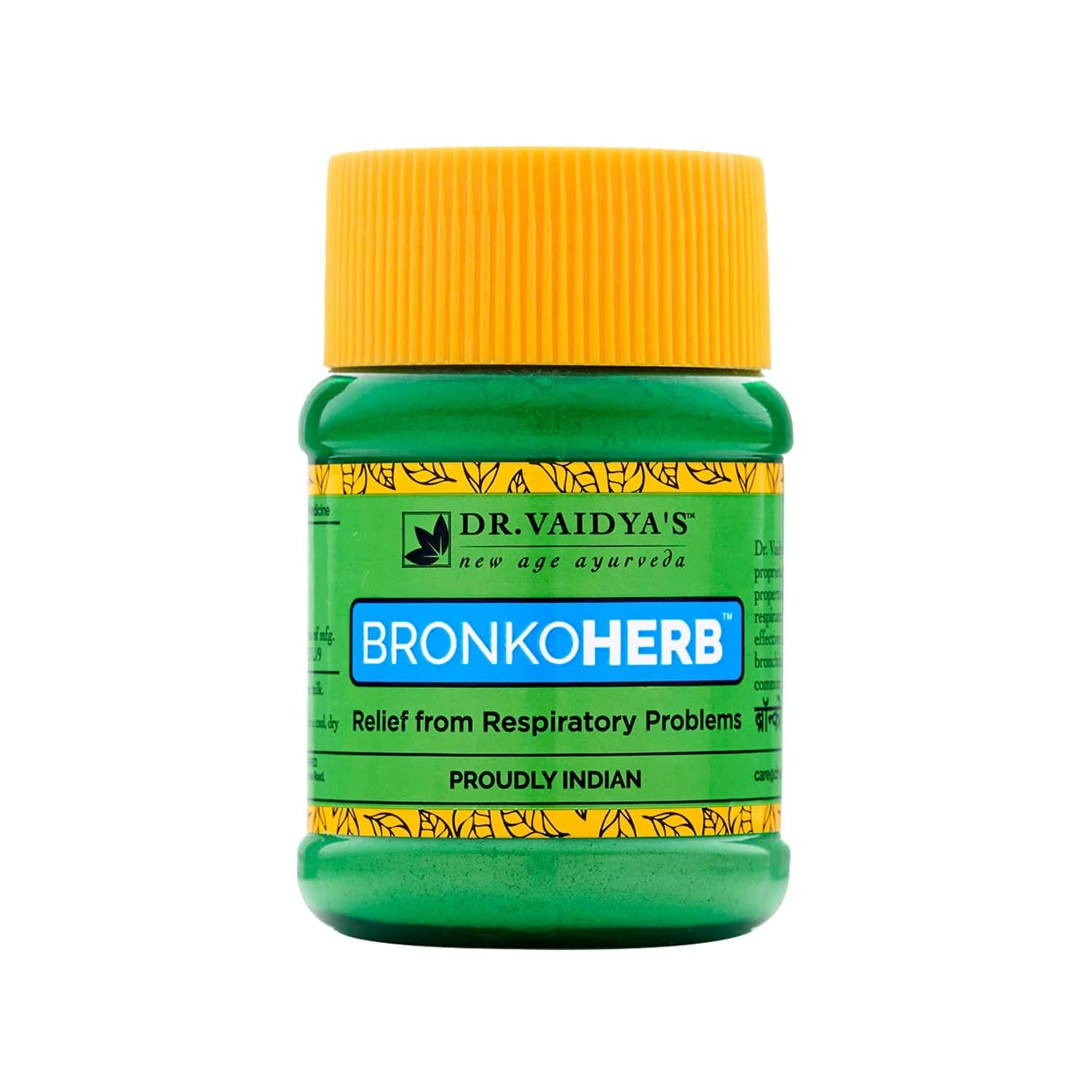 Dr. Vaidya's Bronkoherb Powder Pack Of 2 (100 Gms) (medicines For Breathing Problems)