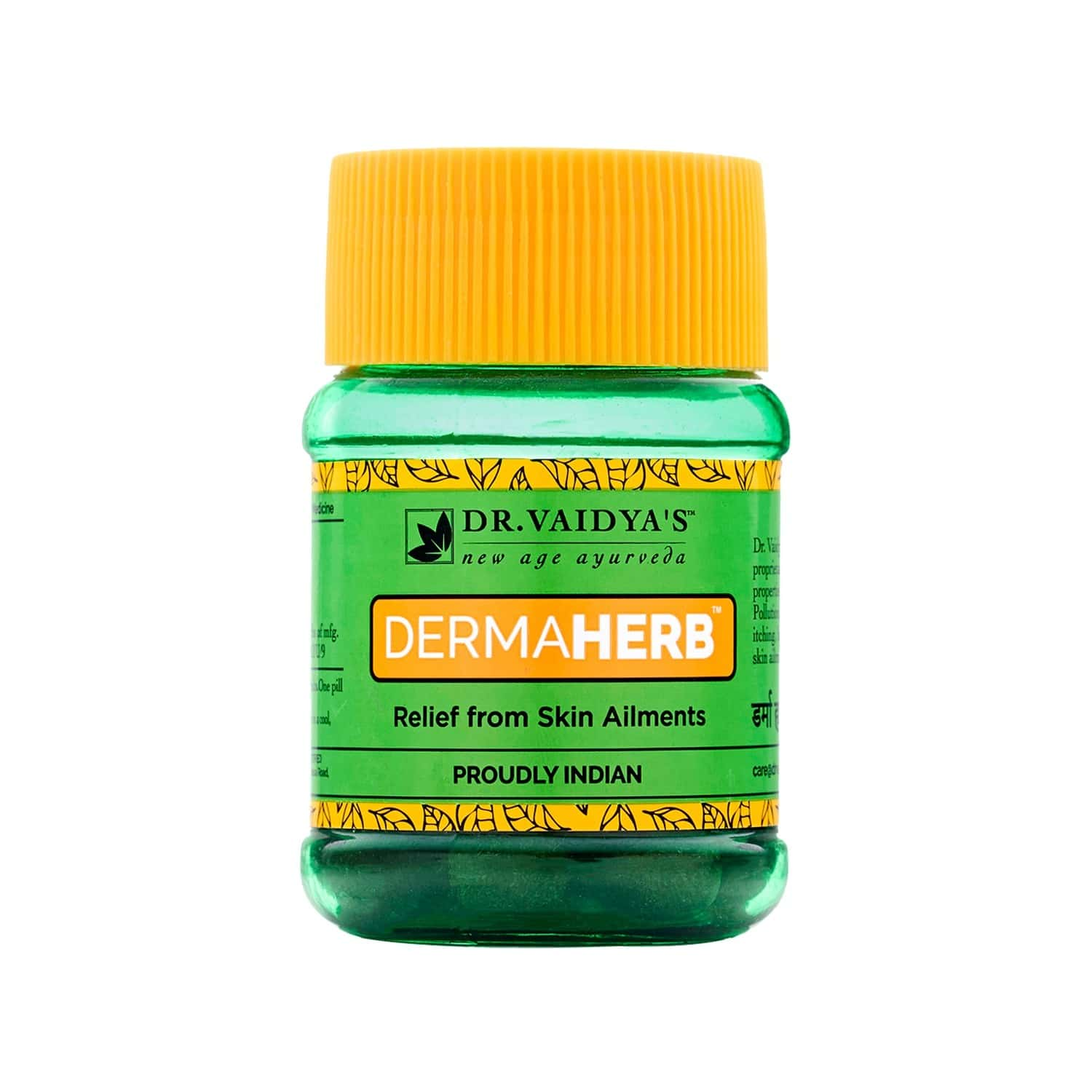 Dr. Vaidya's Dermaherb Pills Pack Of 2 (60 Pills) (skin Care Product)