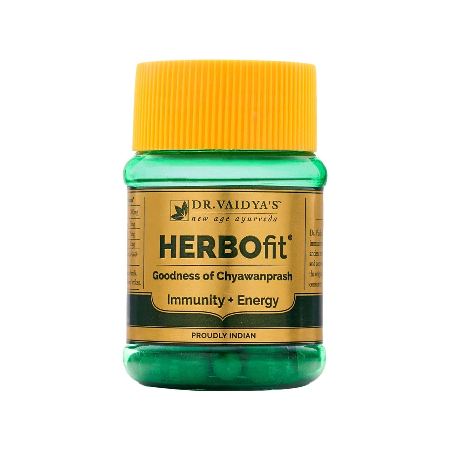Dr.vaidya's Herbofit   Goodness Of Chywanprash In A Capsule   Boost Immunity & Energy   30 Capsules Each (pack Of 2)