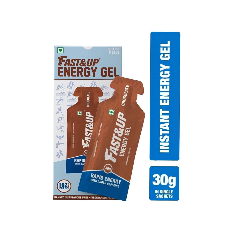 Fast & Up Vegan Chocolate Energy Gel Sachets Box Of 5 's