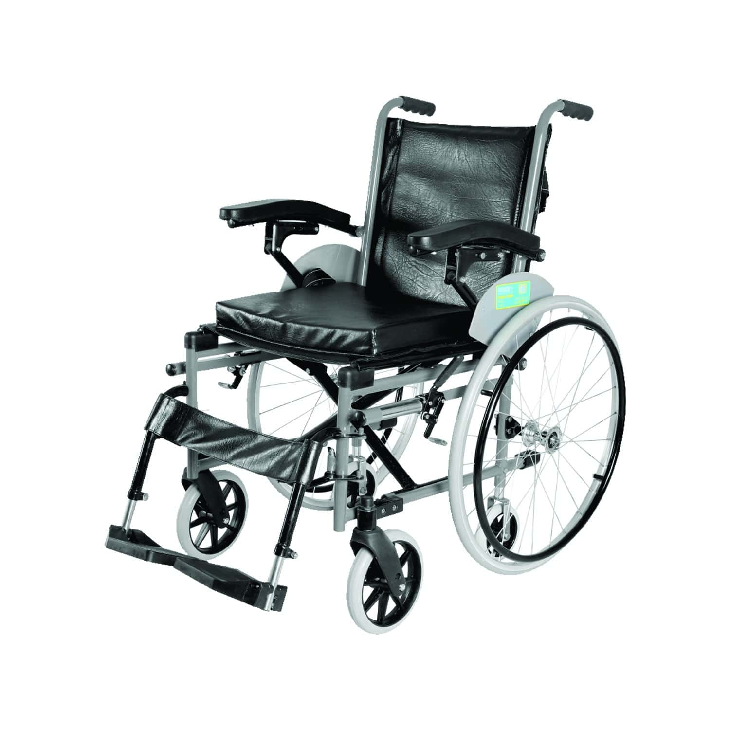 Vissco Imperio Wheelchair With Removable Big Wheels (spoke Wheels)