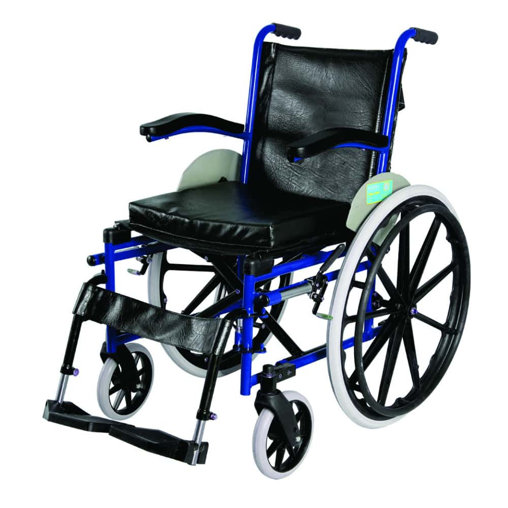 Vissco Imperio Wheelchair With Fixed Big Wheel (mag Wheels)
