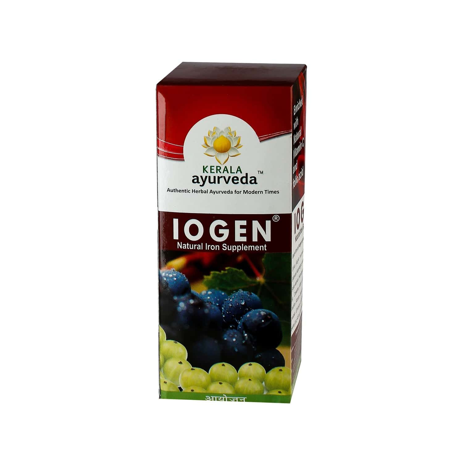 Kerala Ayurveda Iogen Iron Syrup Bottle Of 200 Ml