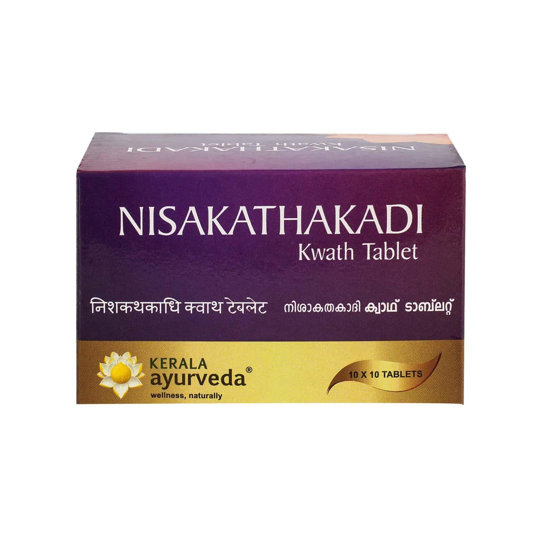 Kerala Ayurveda Nisakathakadi Kwath Diabetes Control Capsules Bottle Of 100