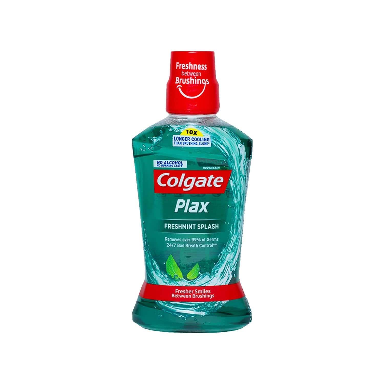 Colgate Plax Freshmint Alcohol-free Mouthwash Bottle Of 500 Ml
