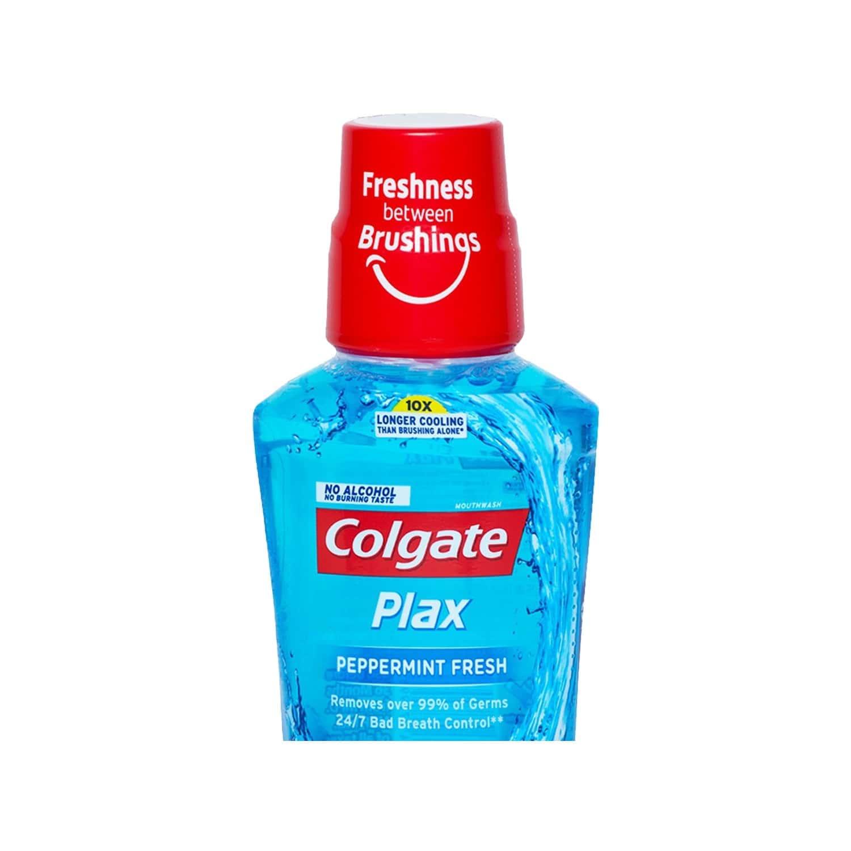 Colgate Plax Peppermint Alcohol-free Mouthwash Bottle Of 250 Ml