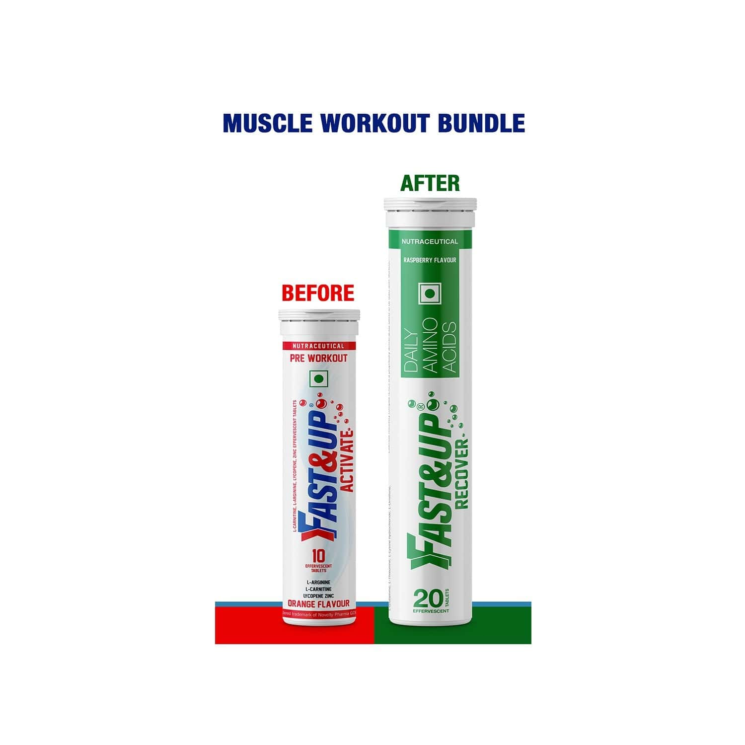Fast&up Muscle Workout Bundle