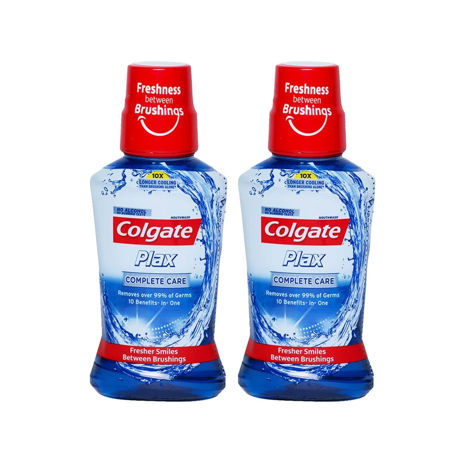 Colgate Plax Complete Care Mouthwash 250ml (pack Of 2)