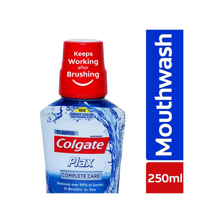 Colgate Plax Complete Care Alcohol - Free Mouthwash - 250 Ml