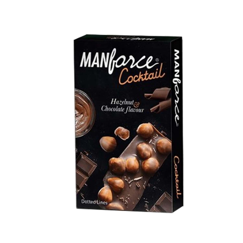 Manforce Choc&hazelnut Flav Condoms 10's