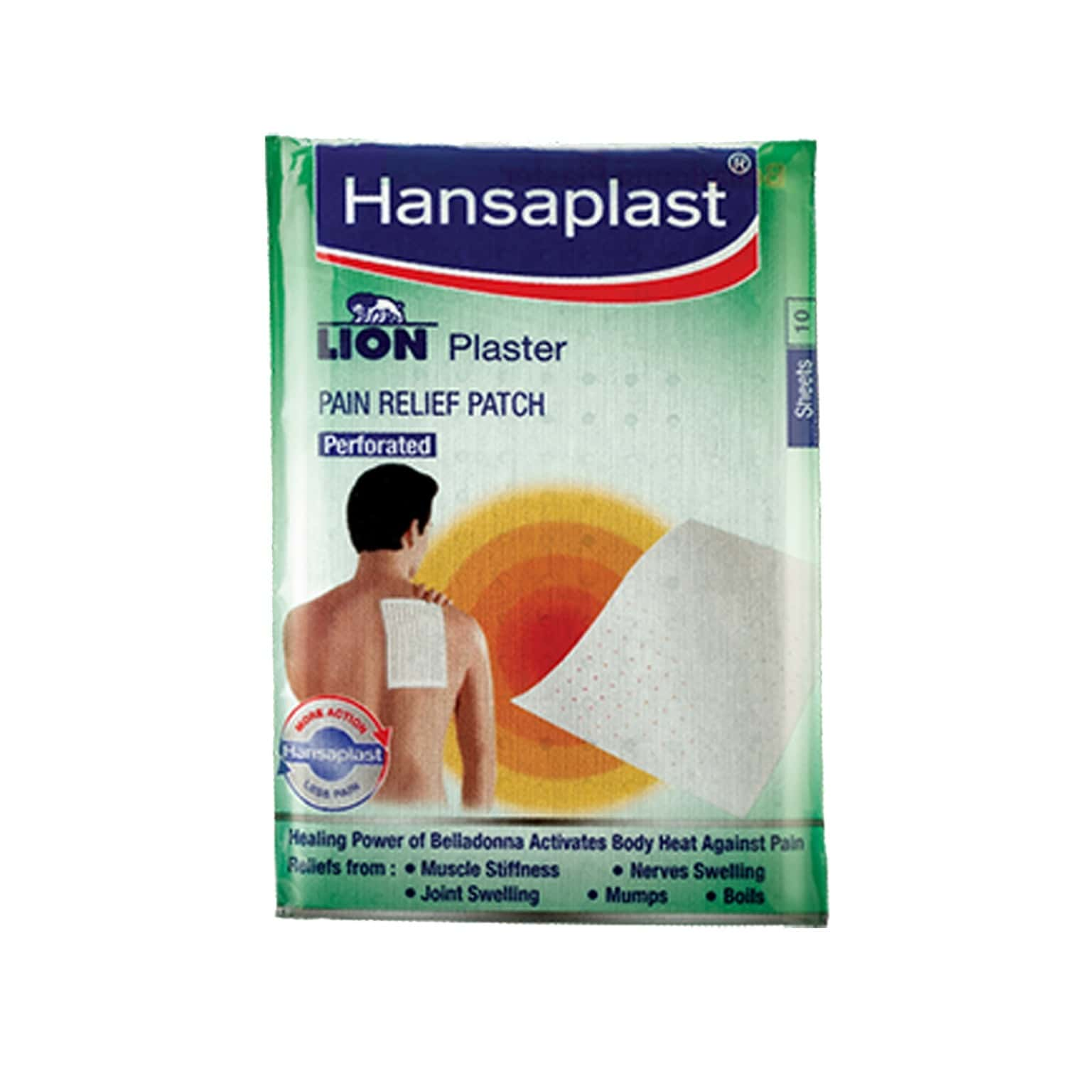 Hansaplast Lion Belladona Plaster Packet Of 10