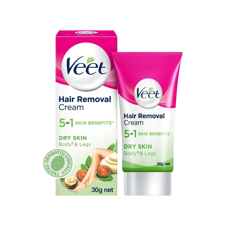 Veet  Hair Removal Cream Dry Skin Tube Of 30 G