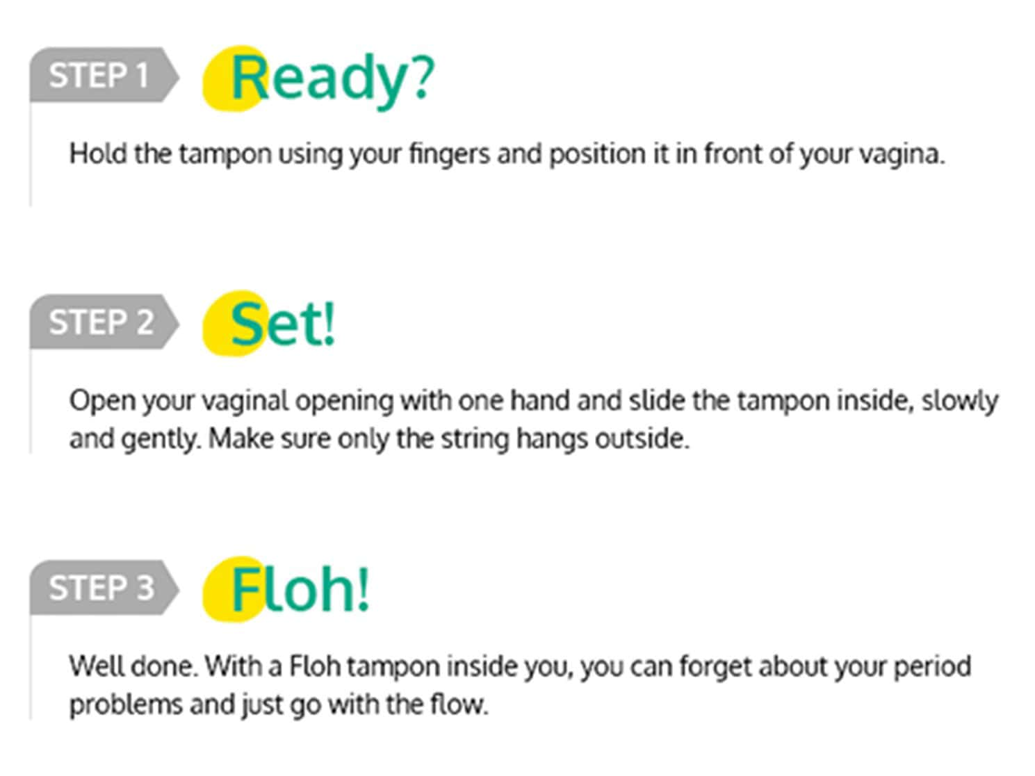 Floh Tampons- Super Combo Of 3