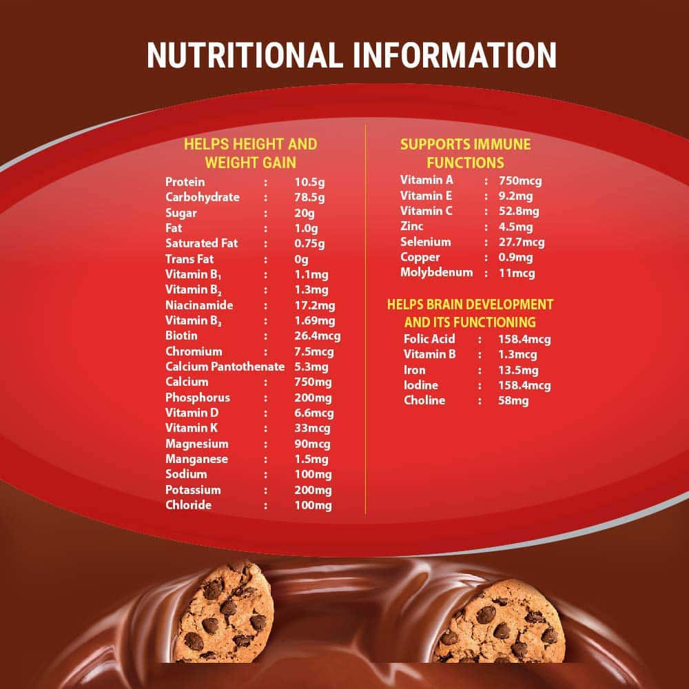 Complan Magic Chocolate Nutrition Drink Refill Of 500 G