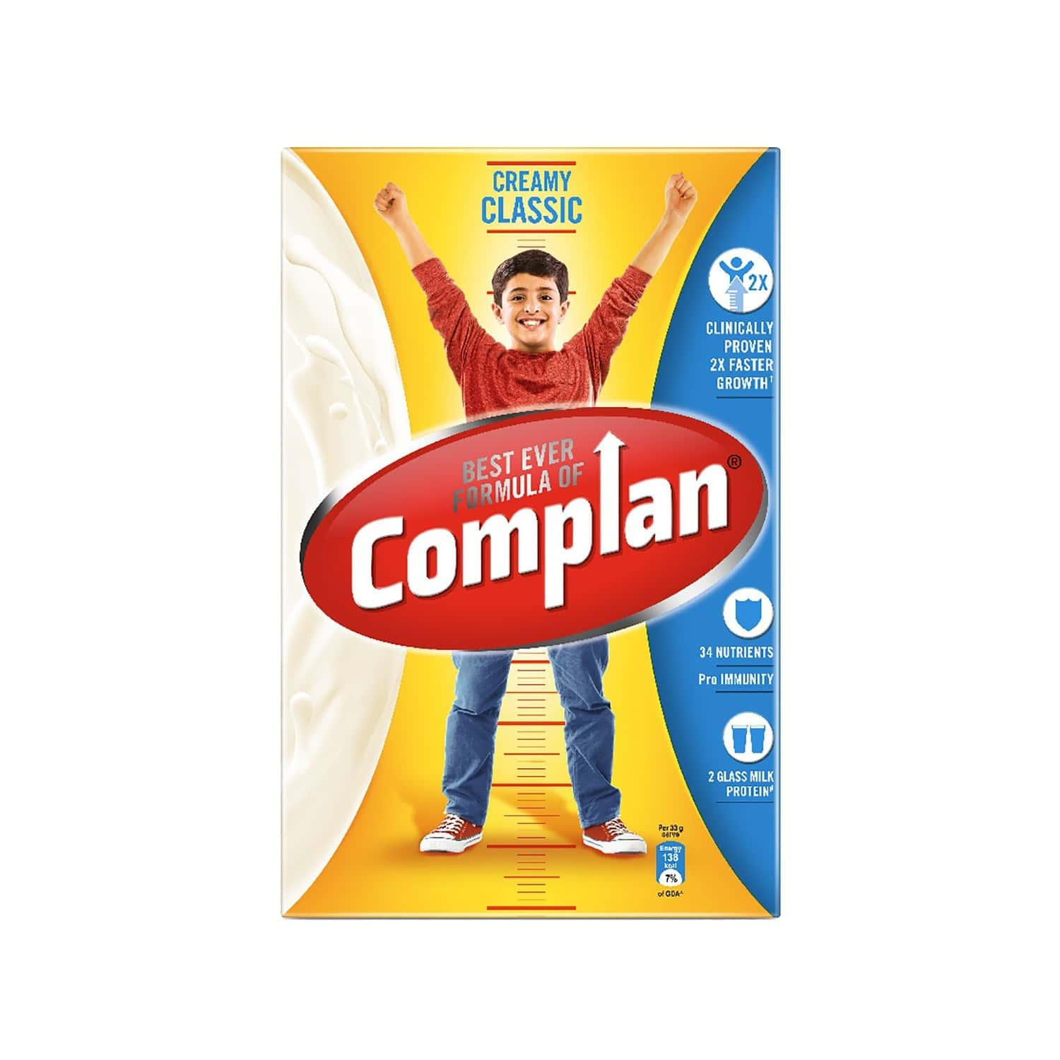 Complan Creamy Classic Nutrition Drink Refill Of 500 G