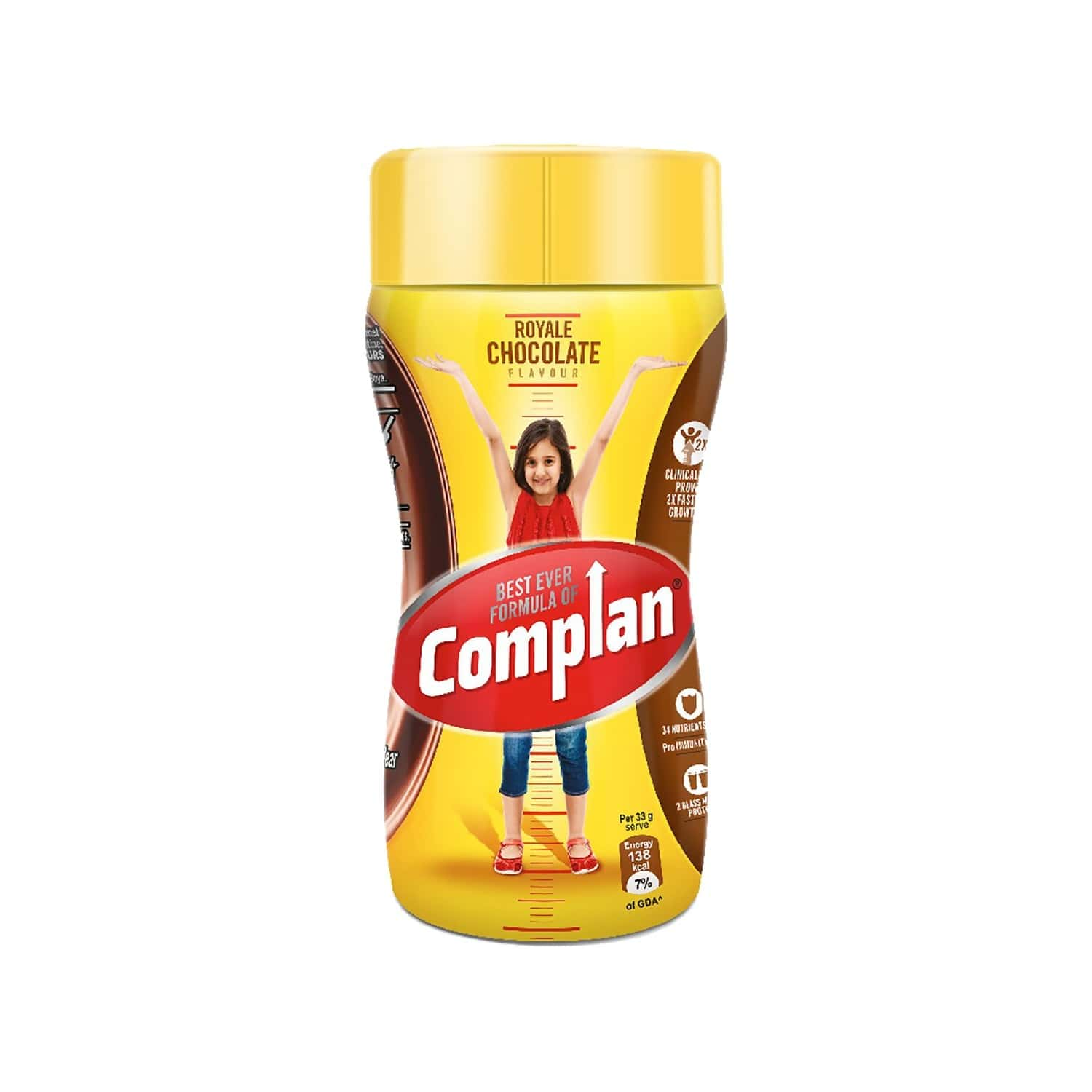 Complan Royale Chocolate Nutrition Drink Jar Of 200g