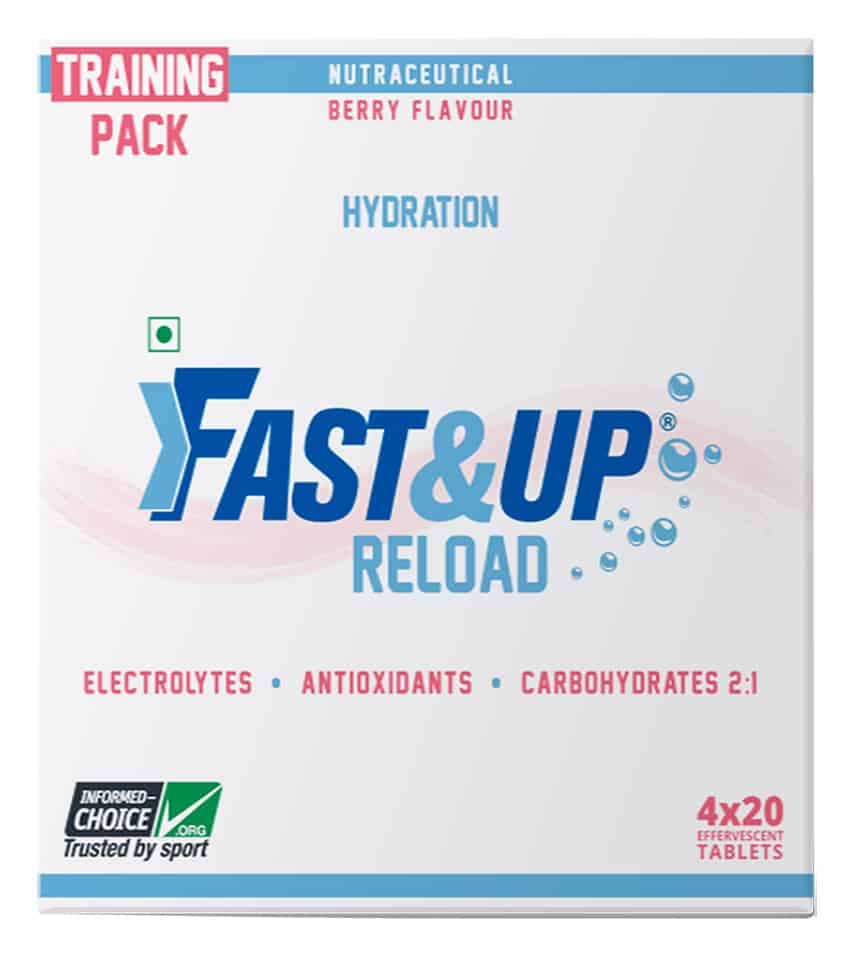 Fast&up Reload Training Pack - 80 Effervescent Tablets - Berry Flavour
