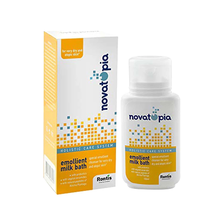 Novatopia Emollient Eczema Calming (all Skin Types) Body Wash For Children & Adults 150 Ml