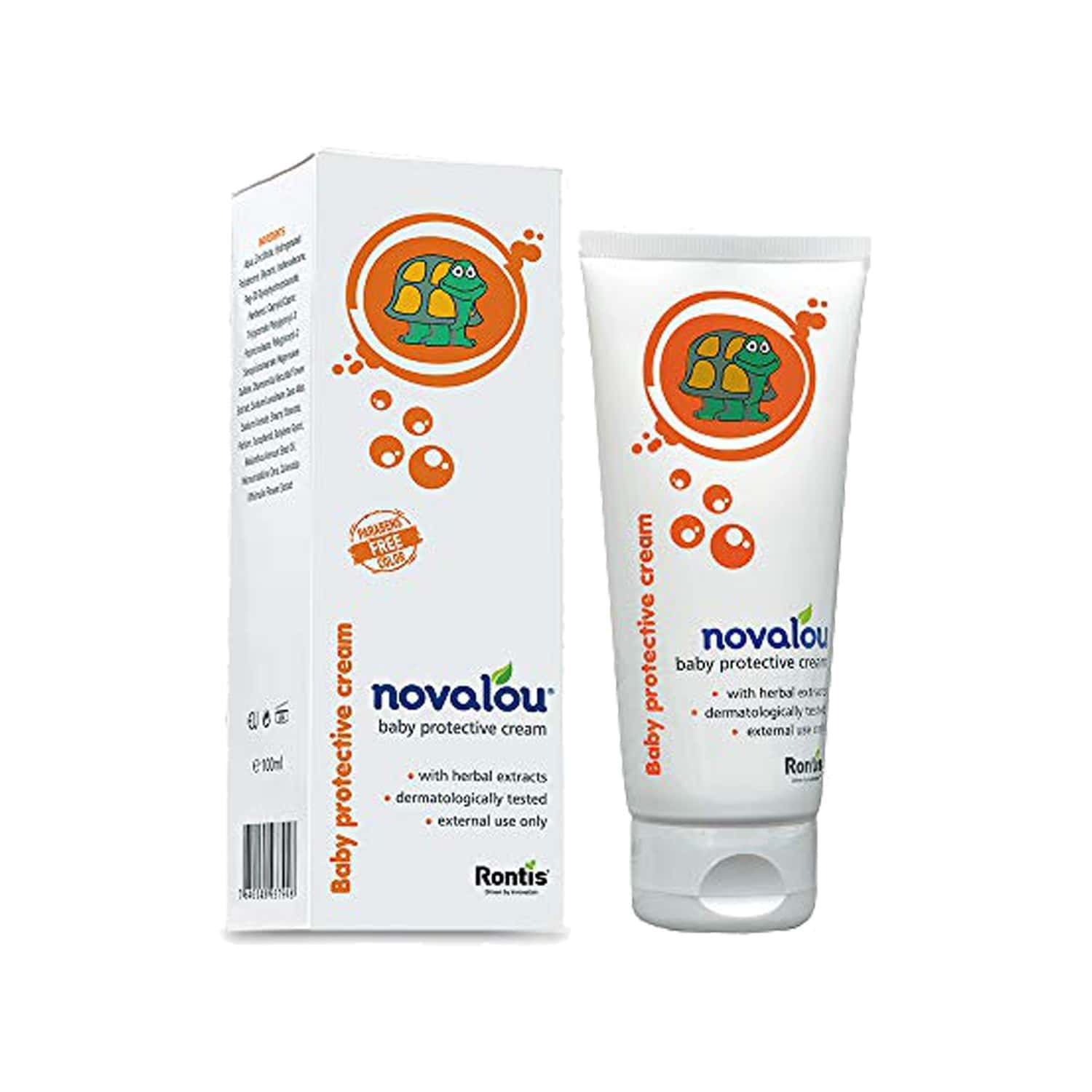 Novalou Dermatologically Tested Diaper Rash Cream For Infants With Eu Certified Organic Ingredients