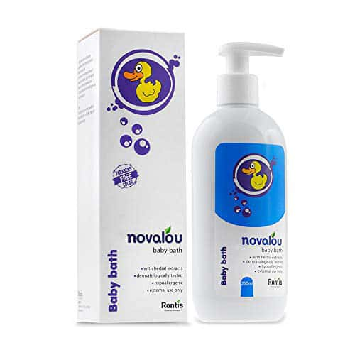 Novalou Infants Body Wash With Natural Herbal Extracts Of Calendula & Chamomile Free Of Paraben 200