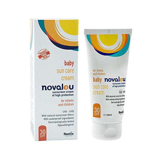 Novalou Body Milk Lotion & Face And Body Sunscreen Spf 30 Skin Combo For Infnats & Children With Eu