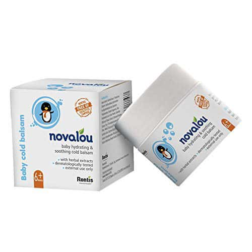 "Novalou Protective Diaper Rash Cream""dermatologist Approved"" & Day/night Cold Relief Balm Combo With"