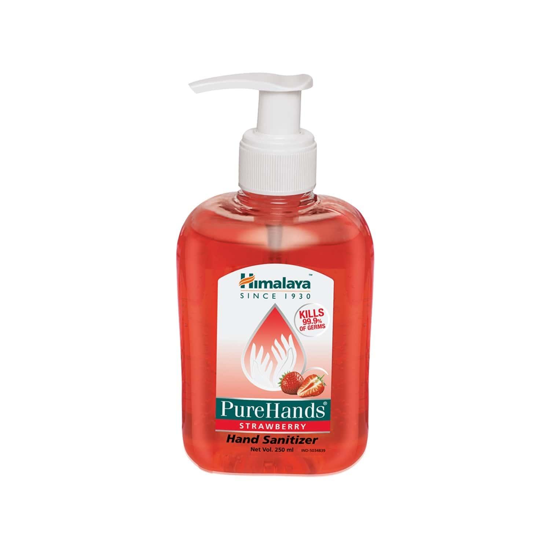 Himalaya Wellness Purehands (250 Ml - Strawberry) - Hand Sanitizer