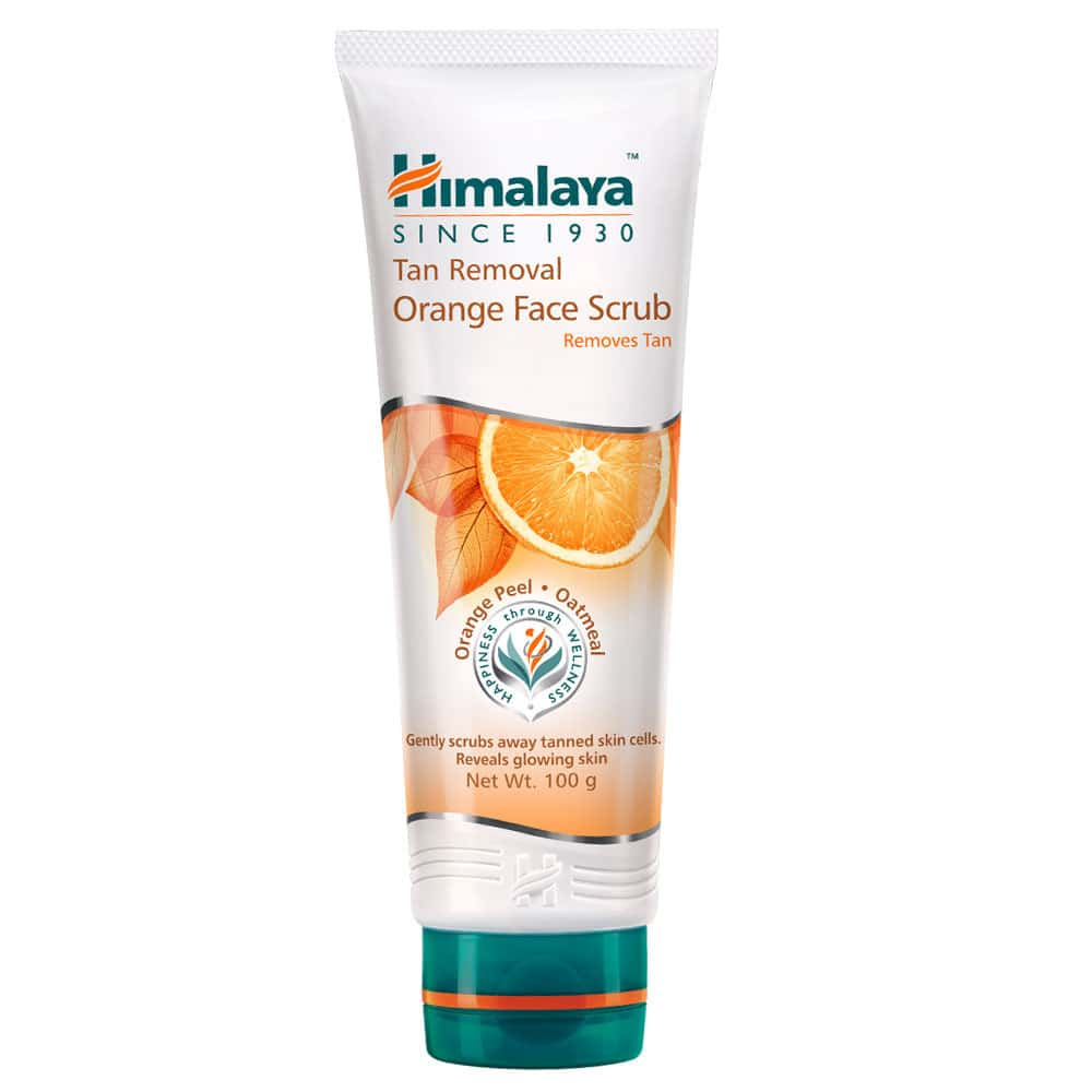 Himalaya Tan Removal Orange Face Scrub 100gm