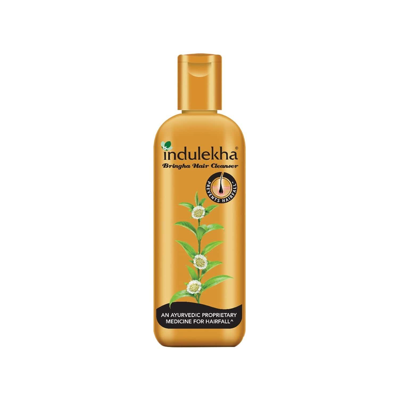 Indulekha Bringha Hair Cleanser Shampoo Bottle Of 100 Ml