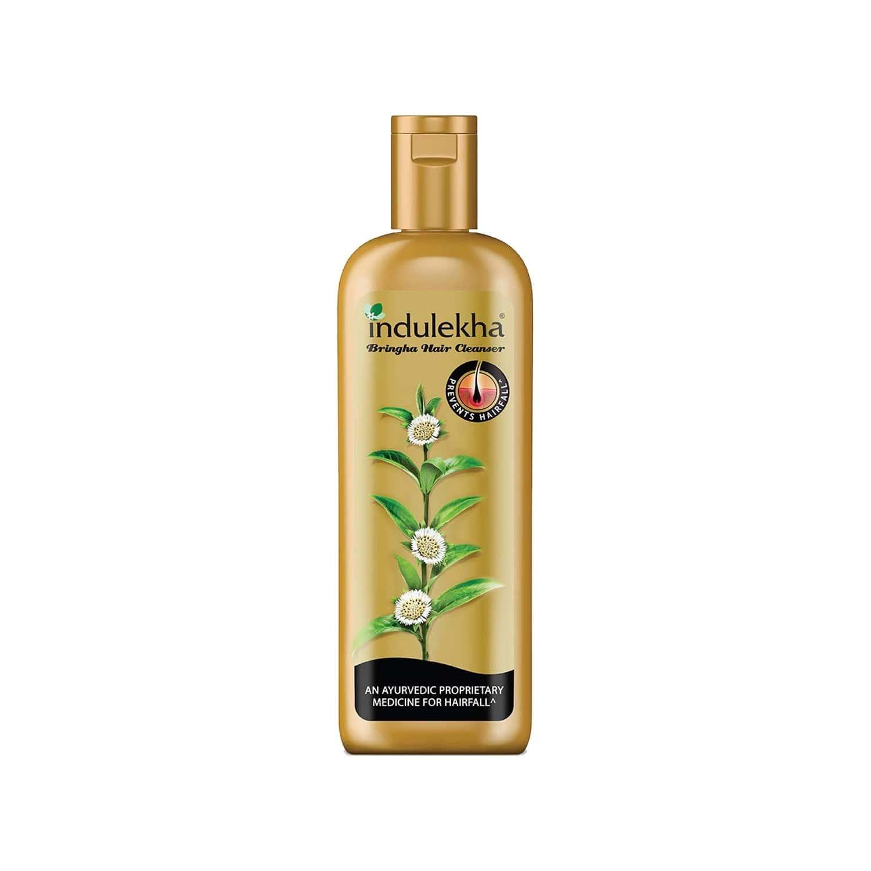 Indulekha Bringha Hair Cleanser Shampoo Bottle Of 200 Ml