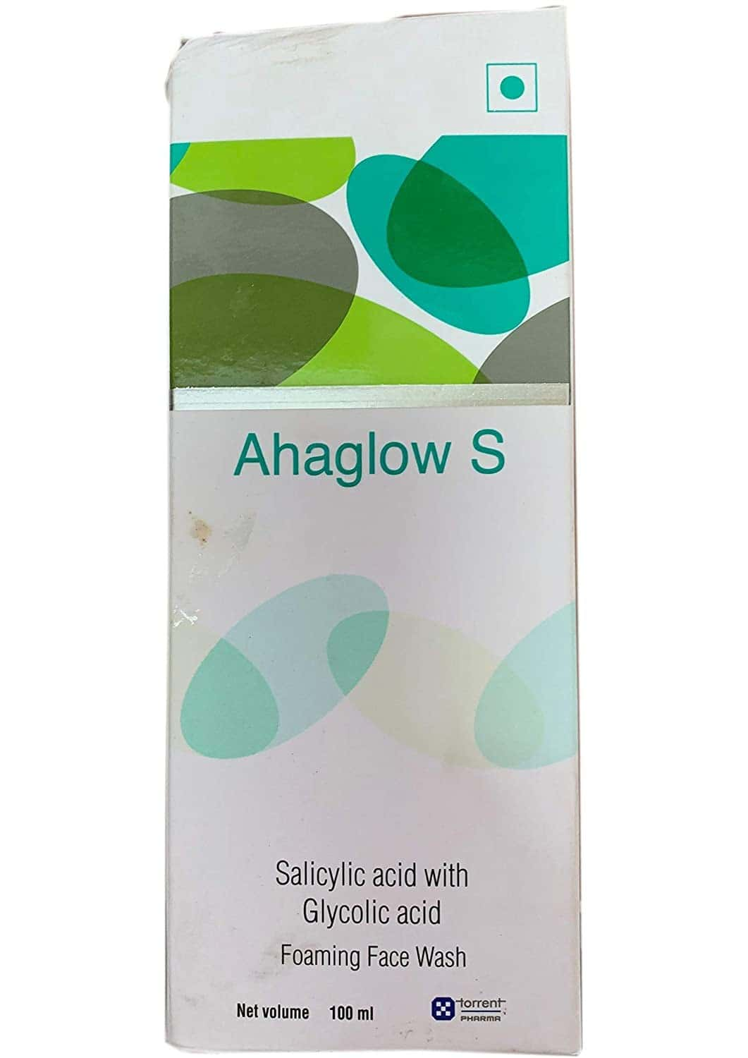 Ahaglow S  Face Wash Foaming Bottle Of 100 Ml