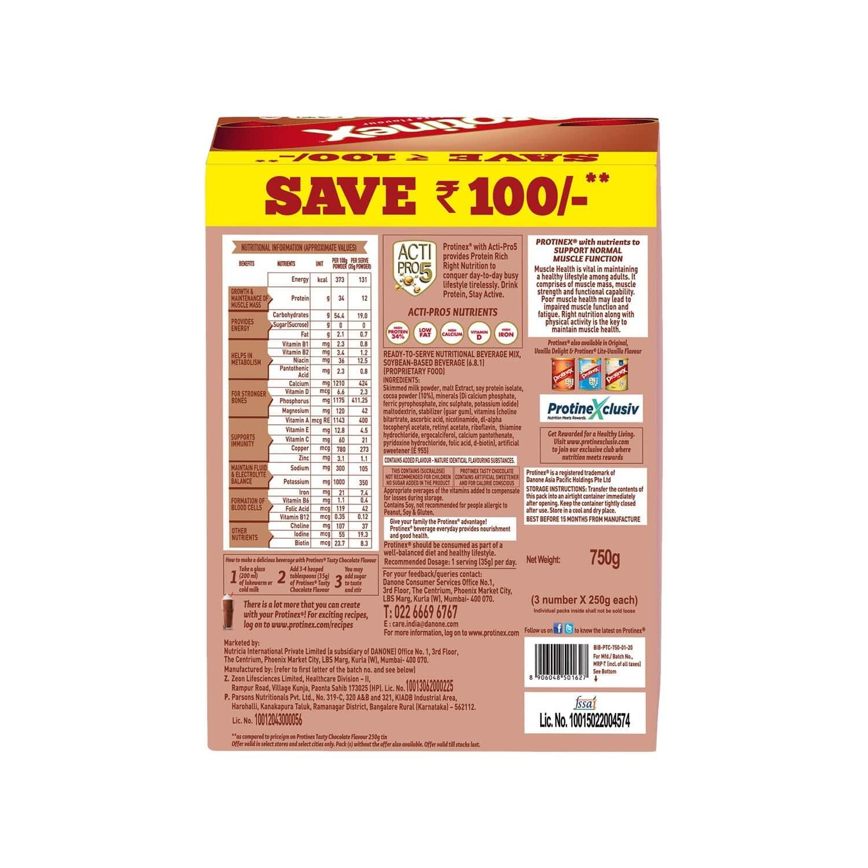Protinex Tasty Chocolate Nutrition Drink Refill Of 750 G