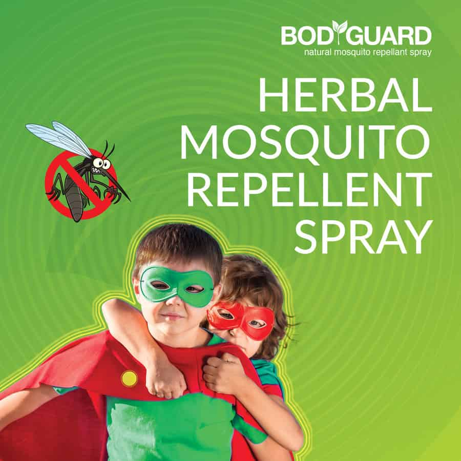 Bodyguard - Natural Anti Mosquito Spray - 100 Ml