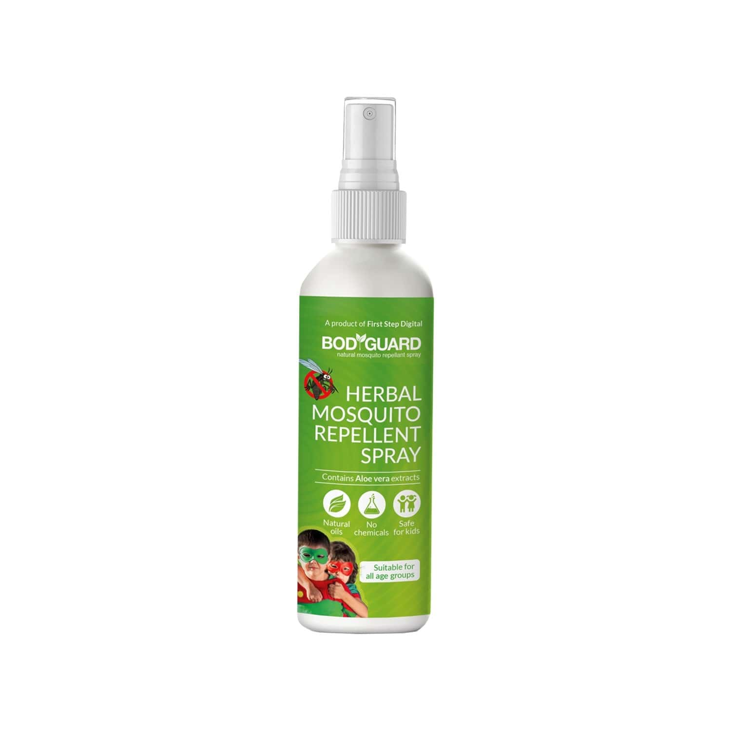 Bodyguard Natural Anti Mosquito Spray Bottle Of 100 Ml
