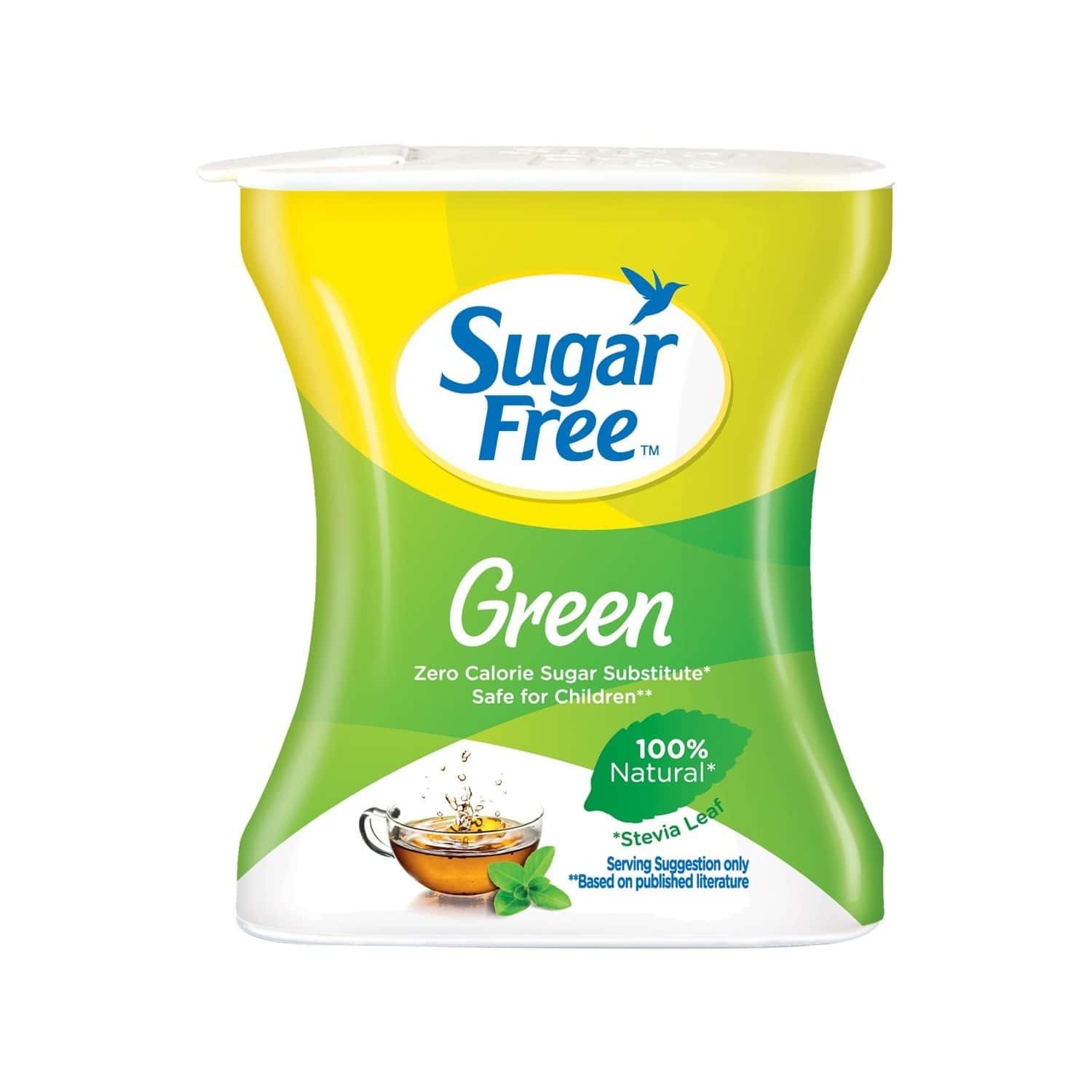 Sugar Free Green 100 Pellets Pack Of 2-made From Stevia 100% Natural Sweetener & Sugar Substitute