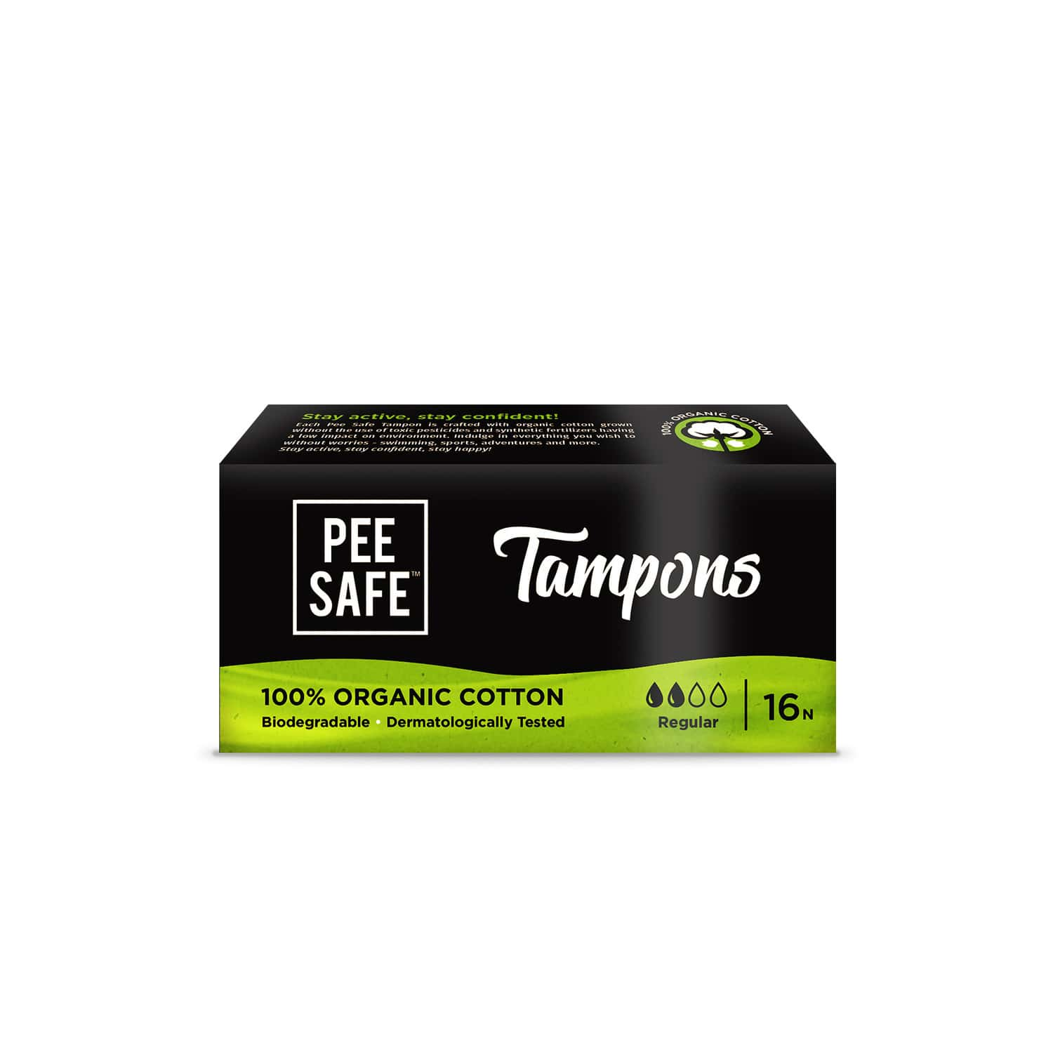 Pee Safe Size Regular Tampon