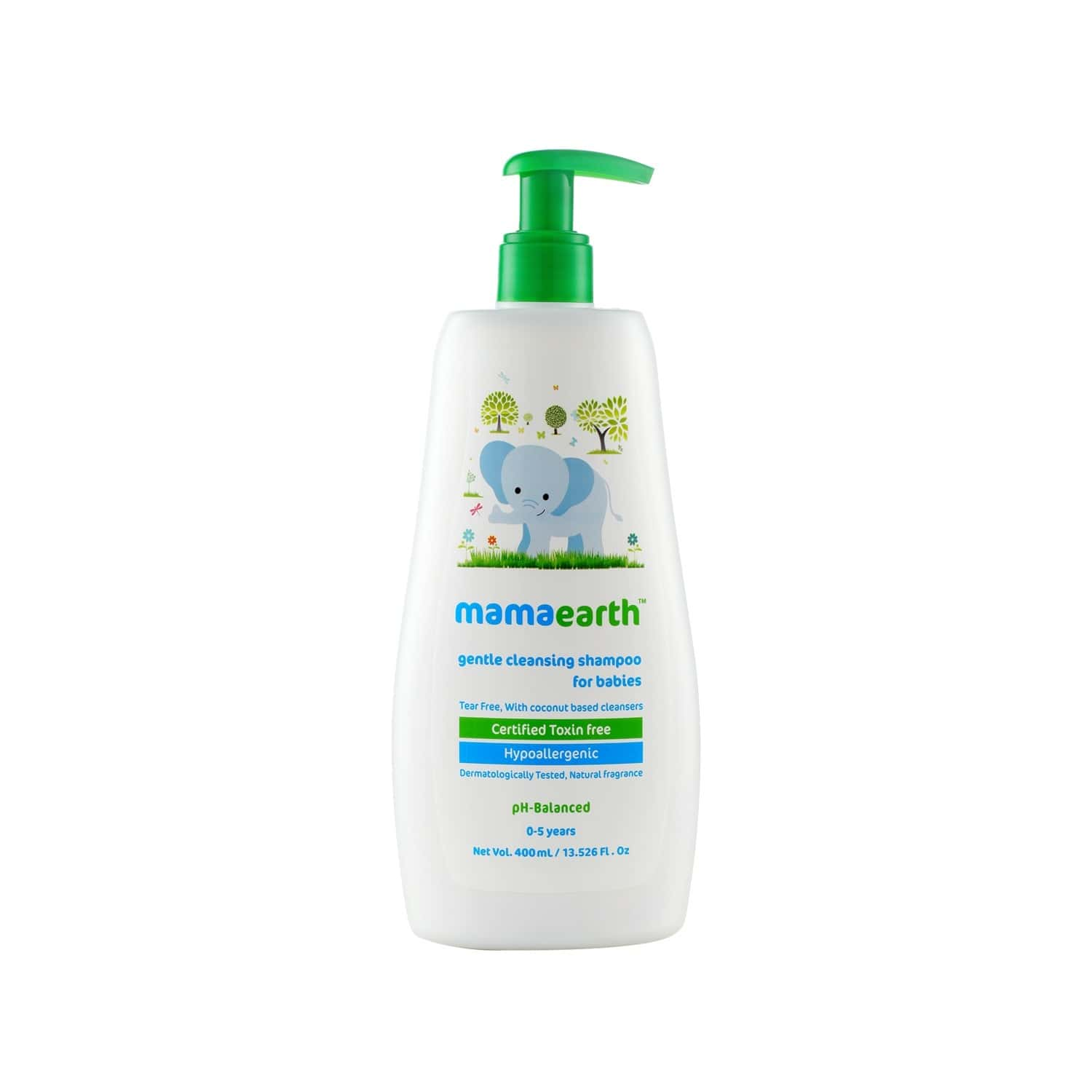 Mamaearth Gentle Cleansing  Shampoo  Bottle Of 400 Ml