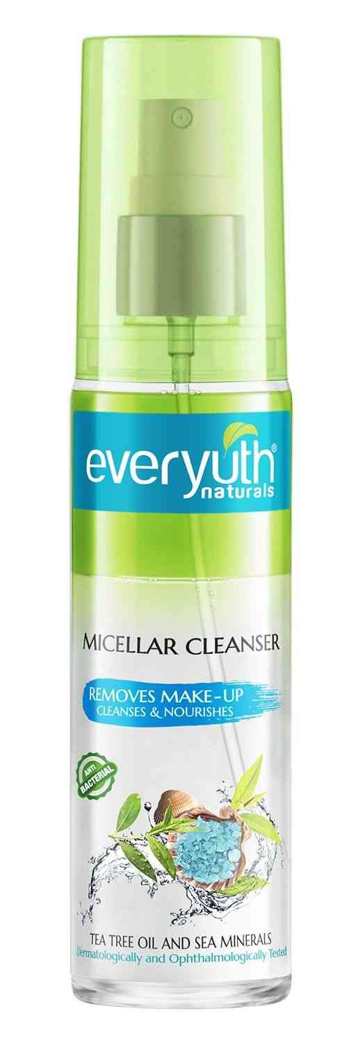 Everyuth Naturals Micellar Cleanser Bottle Of 100 Ml