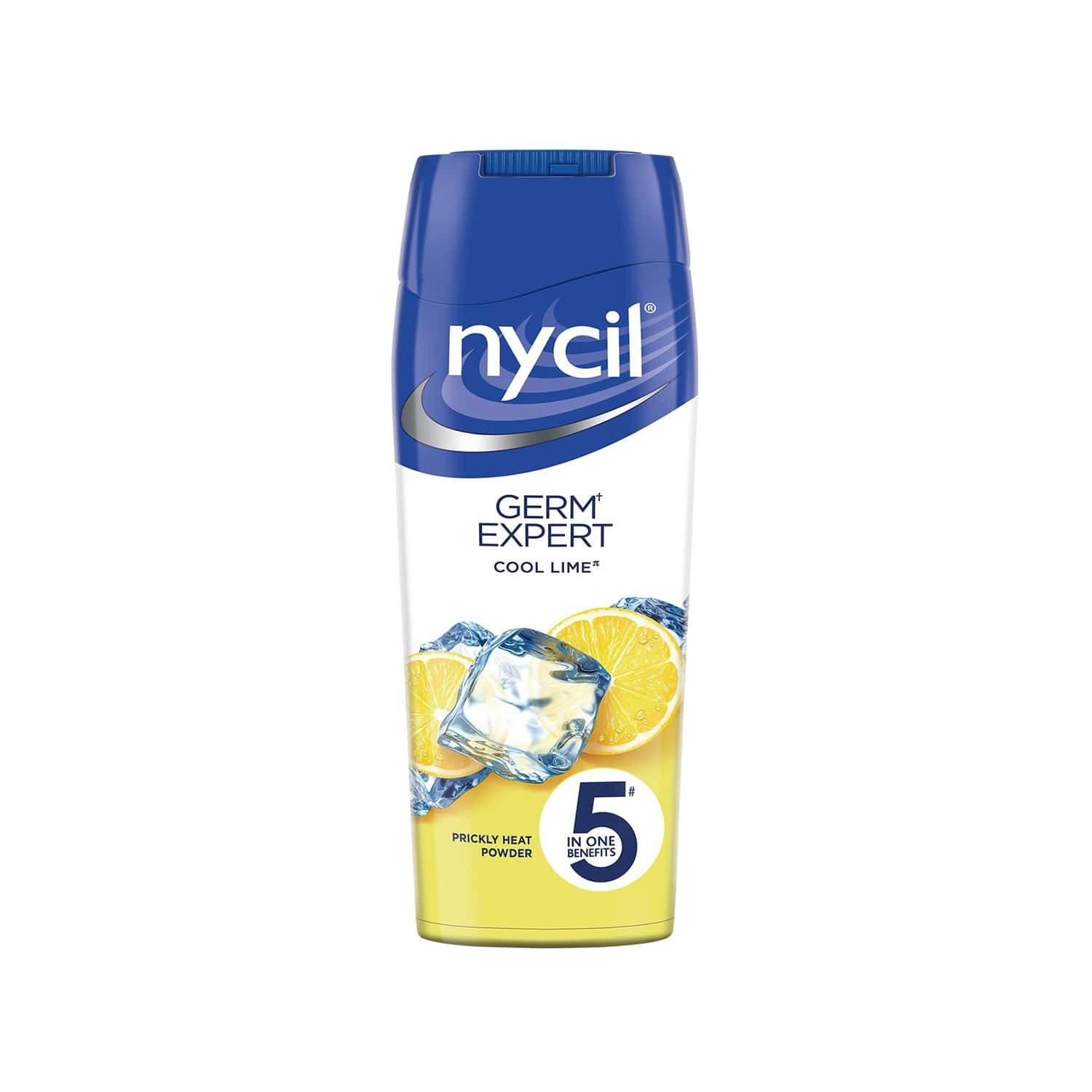 Nycil Cool Lime Prickly Heat Talcum Powder  Bottle Of 150 G