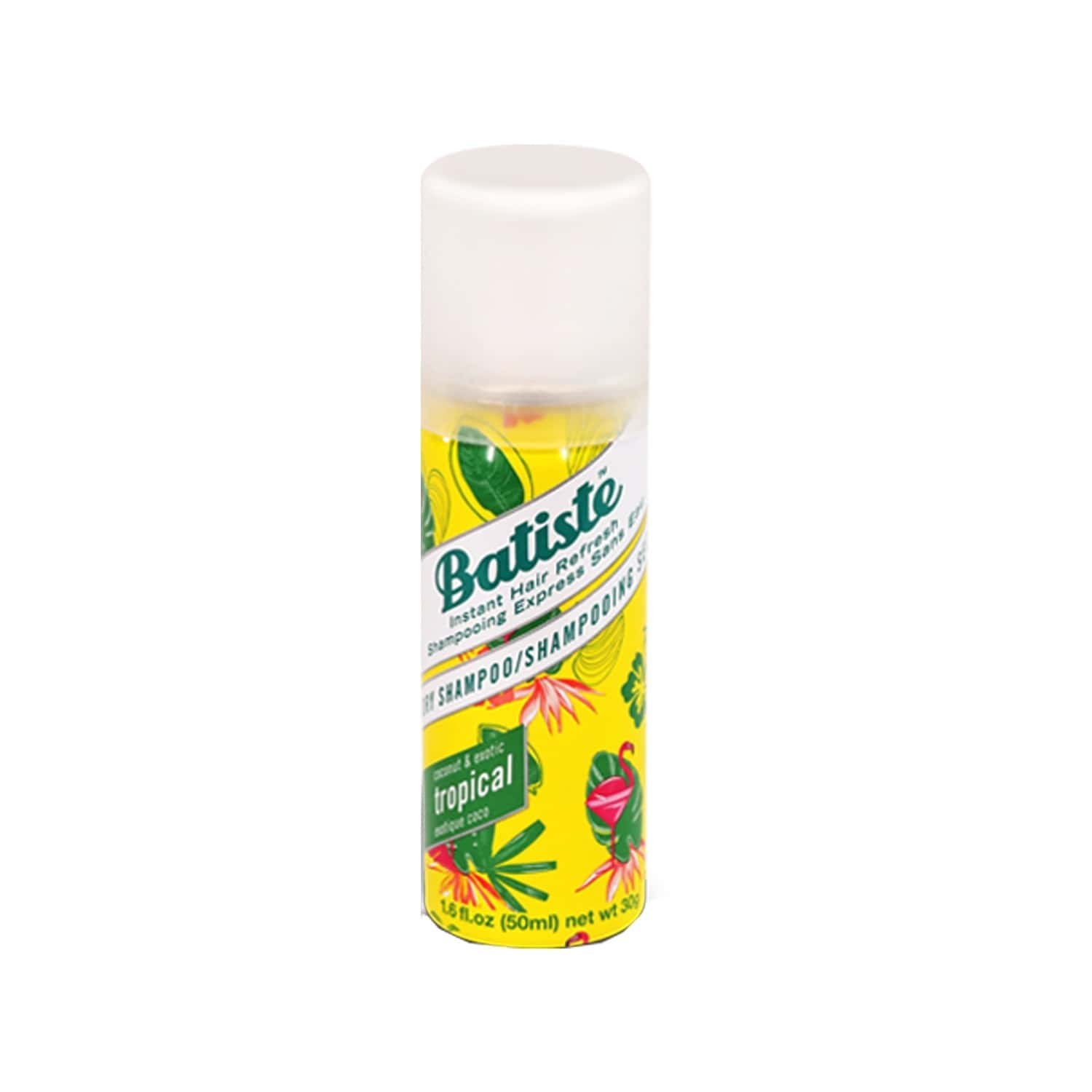 Batiste Instant Hair Refresh Dry Shampoo - Coconut & Exotic Tropical - 50ml